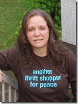 Angelika Dawson - thrift shopper